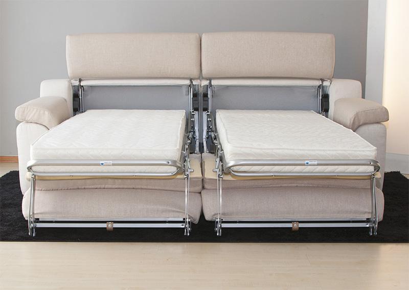Lione divano letto componibile centrodivani for Divano letto componibile