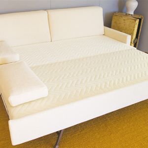 Ambassador tre - Divano doppio letto aperto
