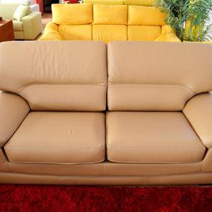 divano in pelle new bingo 3 posti