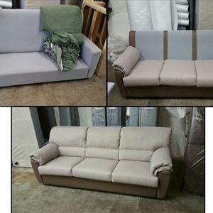 divano rifatto croci