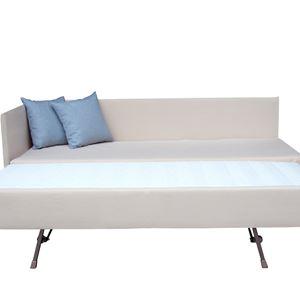 sistema divano doppio letto aperto