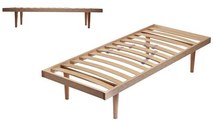 Rete letto in legno di faggio centrodivani - Rete letto legno ...