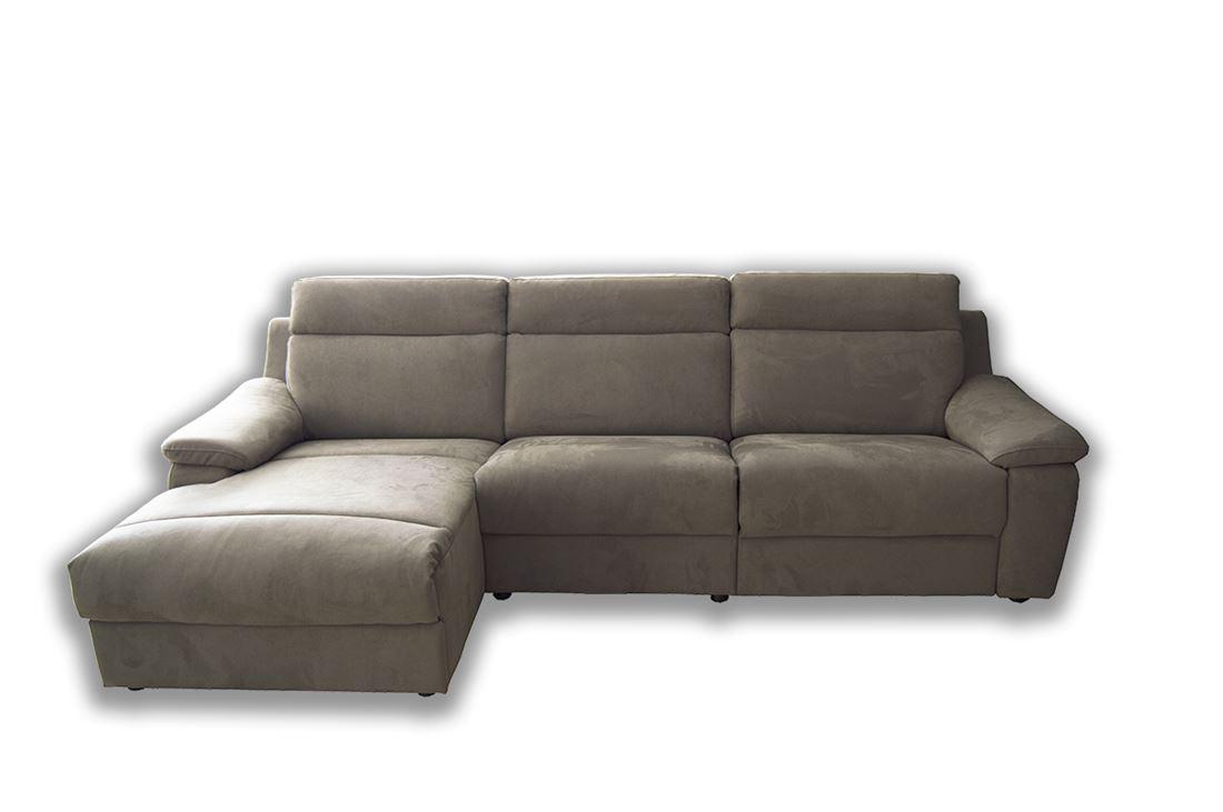 Offerta divano con penisola lione 2 relax - Divano penisola offerta ...