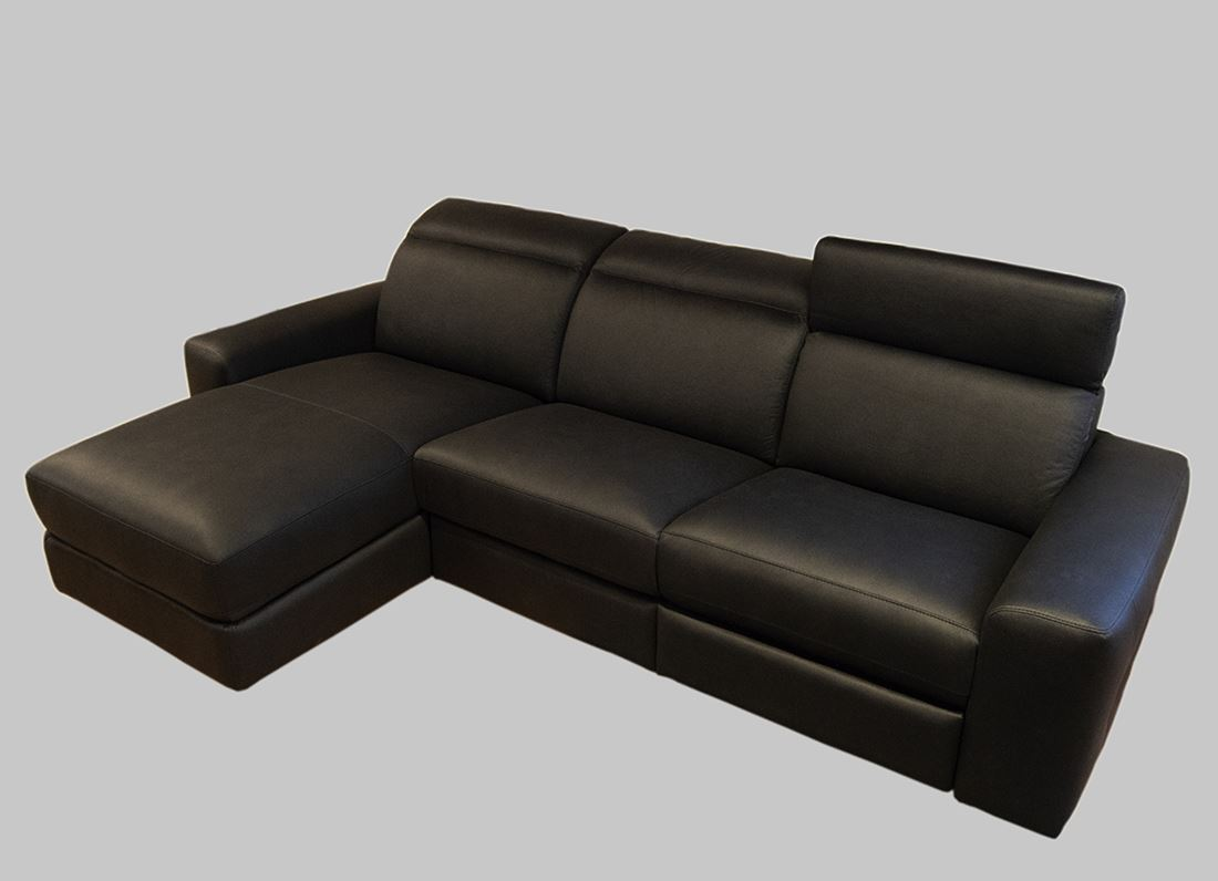 divano relax moderno recliner penisola