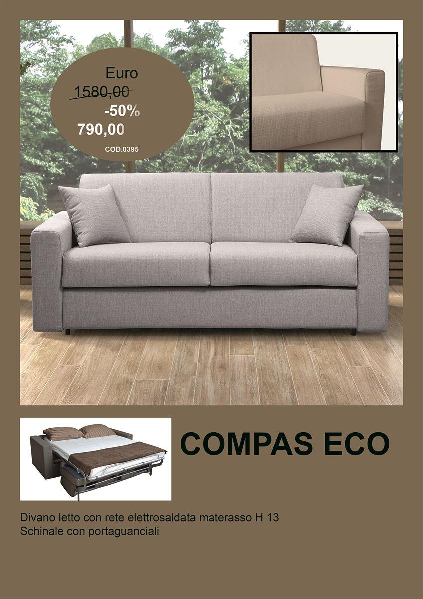 offerta compas eco divano letto