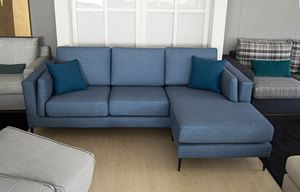 divano moderno froome penisola reversibile