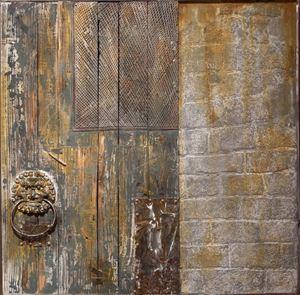 Quadro porta antica