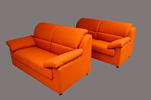 divano Kansas arancione