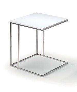tavolino da bracciolo bianco