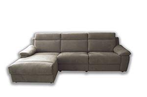 divano con penisola Lione 2 relax elettrico