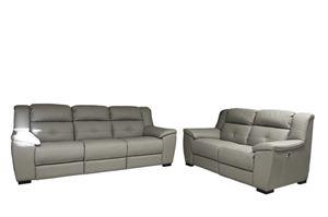 lione 3 2 grigio chiaro divano relax